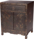 Asian:Chinese, A Chinese Lacquered Cabinet, early 20th century. 24 h x 20 w x 16 dinches (61.0 x 50.8 x 40.6 cm). ...