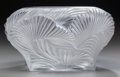 Art Glass:Lalique, A Marie-Claude Lalique Clear and Frosted Glass Hutan LowVase, circa 1994. Marks: Lalique, France. 4-1/2 inc...