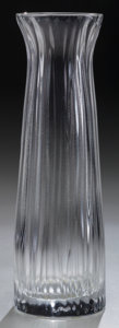 Art Glass:Lalique, A Lalique Clear Glass Brindille Vase, circa 2002. Marks:Lalique, France. 8 inches high (20.3 cm). ...
