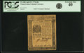 Colonial Notes:Pennsylvania, Pennsylvania April 25, 1776 20 Shillings Fr. PA-206. PCGS ExtremelyFine 40.. ...
