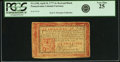 Colonial Notes:Pennsylvania, Pennsylvania April 10, 1777 6 Shillings Red and Black Fr. PA-218b.PCGS Very Fine 25.. ...
