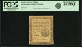 Colonial Notes:Pennsylvania, Pennsylvania April 20, 1781 6 Pence Fr. PA-242. PCGS Choice AboutNew 55PPQ.. ...