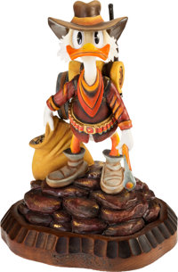 "Carl Barks - Uncle Scrooge ""Always Another Rainbow"" Limited Edition Sculpture, Miniature Lithograph, and Bookl..."