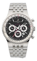 Timepieces:Wristwatch, Breitling Montbrillant 47 Certified Chronometer Chronograph Wristwatch # 1002/2000. ...