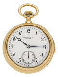 Timepieces:Wristwatch, Touchon & Co. Geneva Miniature Minute Repeating Pocket Watch. ...