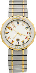 Timepieces:Wristwatch, Corum Admiral's Cup Two Tone Wristwatch. ...
