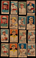 Baseball Cards:Lots, 1919-1923 W514, W551 & W515-1 Strip Card Collection (16)....