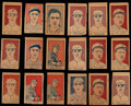 Baseball Cards:Lots, 1926 W512 Strip Card Collection (18). ...