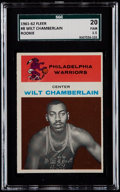 Basketball Cards:Singles (Pre-1970), 1961 Fleer Wilt Chamberlain #8 SGC 20 Fair 1.5....