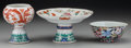 Asian:Chinese, Three Chinese Ceramics. 4-3/4 inches high (12.1 cm) (tallest). ...(Total: 3 Items)