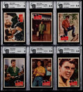 "Non-Sport Cards:Sets, 1959 Topps R710-5 ""Fabian"" High Grade Complete Set (55). ..."