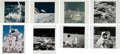 "Explorers:Space Exploration, Apollo 12: Eight Different Original NASA Photos including Four ""Red Number"" Examples. ... (Total: 8 Items)"