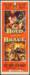 "Movie Posters:War, The Bold and the Brave (RKO, 1956). Inserts (4) Identical (14"" X36""). War.. ... (Total: 4 Items)"
