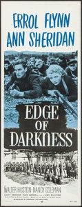 """Movie Posters:War, Edge of Darkness (Dominant, R-1956). Inserts (2) Identical (14"""" X36""""). War.. ... (Total: 2 Items)"""