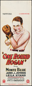 "Movie Posters:Sports, One-Round Hogan (Warner Brothers, 1927). Australian Pre-War Daybill (15"" X 40""). Sports.. ..."