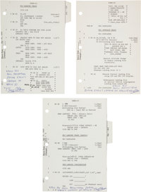 Apollo 11 Lunar Module Flown LM G and N Dictionary Lunar Module Landing Sequence Pages PGNS-