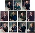 Autographs:Celebrities, Apollo, Skylab, and Shuttle Astronaut Signed Color Photo Collection(Eleven).... (Total: 11 )
