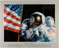 "Explorers:Space Exploration, Alan Bean Signed Limited Edition ""A Reflection Of The Best"" Print,#AP8/10. ..."