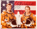 """Autographs:Celebrities, Space Shuttle STS-2 (Columbia) Crew-Signed NASA Color PhotoOriginally from the Collection of Walter """"Kappy"""" Kapry..."""