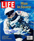 Autographs:Celebrities, Buzz Aldrin Signed Book: LIFE Man in Space, Originally fromHis Personal Collection. ...