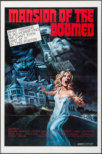 """Mansion of the Doomed & Others Lot (Group 1, 1976). One Sheets (75) (27"""" X 41""""). Horror. ... (Total: 75 It..."""