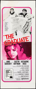 "Movie Posters:Comedy, The Graduate (United Artists, R-1970s). Insert (14"" X 36""). Comedy.. ..."