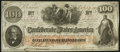 Confederate Notes:1862 Issues, T41 $100 1862 PF-21.. ...