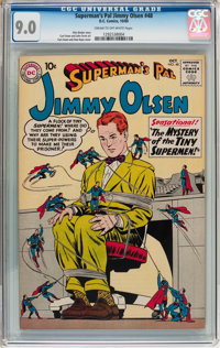 Superman's Pal Jimmy Olsen #48 (DC, 1960) CGC VF/NM 9.0 Cream to off-white pages