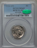 1936-S/S 5C Repunched Mintmark, FS-501, MS65 PCGS. CAC. (FS-020). PCGS Population (10/1). NGC Census: (0/0)....(PCGS# 38...
