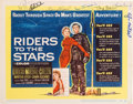 Explorers:Space Exploration, Apollo Moonwalkers: Riders to the Stars Lobby Card (1954)Signed by Seven Moonwalkers Including Neil Armstrong....