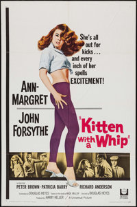 """Kitten with a Whip (Universal, 1964). One Sheet (27"""" X 41""""). Bad Girl"""