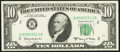 Error Notes:Ink Smears, Fr. 2017-B $10 1963A Federal Reserve Note. Very Fine.. ...
