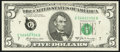 Error Notes:Ink Smears, Fr. 1970-G $5 1969A Federal Reserve Note. Very Fine.. ...