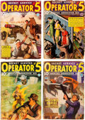 Pulps:Detective, Operator #5 Group of 19 (Popular, 1934-39) Condition: AverageFR/GD.... (Total: 19 Items)