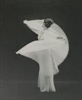 Photography:20th Century, Mark Shaw (American, 1922-1969). Vanity Fair Butterfly Robe Swirling, posthumous printing 2008. Gliceé print on Hahnemul...