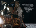 Autographs:Celebrities, Alan Bean Signed Large Apollo 12 Lunar Surface Color Photo, withPhotographic Provenance. ...