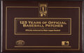 Baseball Collectibles:Others, 125 Years of Official Baseball Patches (41). ...