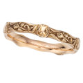 Estate Jewelry:Bracelets, Art Nouveau Gold Bracelet, Riker Bros.. ...