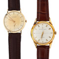 Timepieces:Wristwatch, Girard Perregaux & Wittnauer Gold Filled Wristwatches. ... (Total: 2 Items)