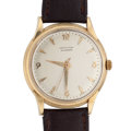 Timepieces:Wristwatch, Hamilton 14k Gold Automatic Wristwatch. ...