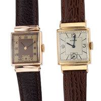 Le Coultre & Swiss Gold Filled Wristwatches