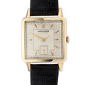 Timepieces:Wristwatch, Movado 14k Gold Bumper Wind Automatic Wristwatch. ...