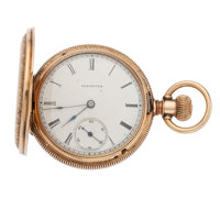 Illinois 14k Gold Hunter's Case Pocket Watch