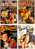 Pulps:Detective, Assorted Detective Pulps Group of 9 (Miscellaneous Publishers, 1930s-40s) Condition: Apparent GD.... (Total: 9 Comic Books)