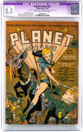 Golden Age (1938-1955):Science Fiction, Planet Comics #21 (Fiction House, 1942) CGC Apparent GD+ 2.5 Slight (C-1) Light tan to off-white pages....