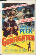 "Movie Posters:Western, The Gunfighter (20th Century Fox, 1950). One Sheet (27"" X 41"").Western.. ..."