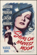 "Movie Posters:Musical, Shine on Harvest Moon (Warner Brothers, 1944). One Sheet (27"" X 41""). Musical.. ..."
