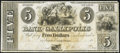 Obsoletes By State:Ohio, Gallipolis, OH- Bank of Gallipolis $5 Aug. 9, 1839. ...