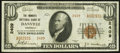 National Bank Notes:Kentucky, Danville, KY - $10 1929 Ty. 2 The Farmers NB Ch. # 2409. ...