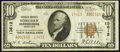National Bank Notes:Kentucky, Harrodsburg, KY - $10 1929 Ty. 2 Mercer County NB Ch. # 13612. ...